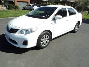 2010 Toyota Corolla Sedan,  AUTO,  REG  1 YEAR,  RWC, URGENT SALE Roxburgh Park Hume Area Preview