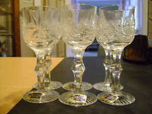 Crystal Liquor Glasses