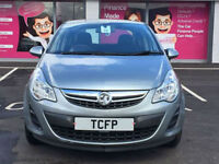 Vauxhall Corsa 1.2i 2012 Exclusiv ** GOOD/BAD CREDIT CAR FINANCE ** FROM £18 P/W