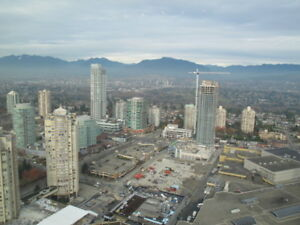 Burnaby Metrotown@Telford Ave 2 Bed 2 Bath Highrise Apt for Rent