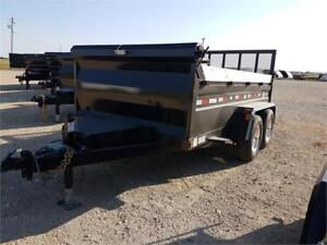 2018 Precision Trailers 6X12 Dump Box HH4284