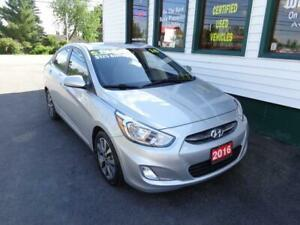 2016 Hyundai Accent SE w/ sunroof only $125 bi-weekly all in!