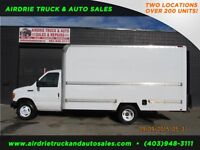2007 Ford Econoline Commercial Cutaway 15' Van Body Gas