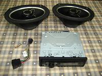Pioneer DEH-1300mp MP3 car radio & Vibe Slick 69.2.V4 420 watt Speakers