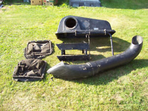 Twin Rear Bagger Kit