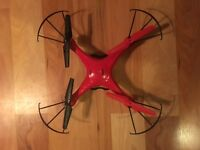 Red & Black SYMA Drone found in West End Neighbourhood