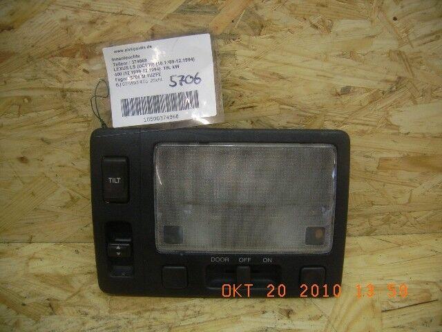 374868 Interior light LEXUS LS (F1) LS 400 180 kW 245 HP (12.1989-12.1994) LEXU