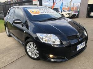2008 Toyota Corolla ZRE152R Levin ZR Black 4 Speed Automatic Hatchback Brooklyn Brimbank Area Preview
