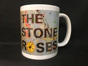 THE STONE ROSES COFFEE TEA MUG CUP (CAN BE PERSONALISED)
