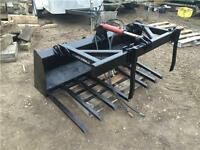 Conterra skid steer manure grapple - less than half price!!
