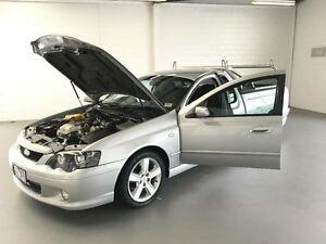 2005 Ford Falcon BA MkII XR6 Silver 4 Speed Auto Seq Sportshift Utility Frankston Frankston Area Preview
