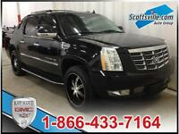 2009 CADILLAC ESCALADE EXT; NAV, SUNROOF, DVD, LEATHER & LOADED