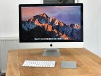 "iMac 27"" (Late 2012) 13,2 3.2GH i5 Quad core, 8gb RAM (easy to upgrade to 32gb) Keyboard Mouse"