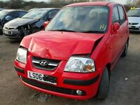 HYUNDAI AMICA 2006 RED BREAKING FOR SPARES TEL 07814971951 HAVE FEW IN STOCK