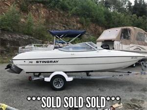 ***SOLD SOLD SOLD***2004 18' STINGRAY BOWRIDER 135HP