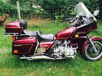 Low Mileage Fully Dressed 1982 Honda Goldwing