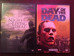 Night of the living dead + day of the dead dvd