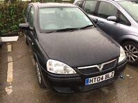 Vauxhall corsa 1ltr black 2004 cheap insurance