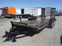 14K - 7 x 18 Equipment Trailer by Canada Trailers *TAX IN PRICE*