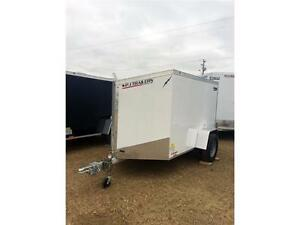 5ft X 8ft Flat Top Enclosed Trailer (LTF58SA)