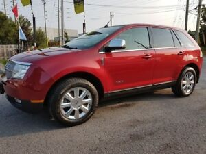 2008 Lincoln MKX FWD, LEATHER, PANORAMIC, BLUETOOTH, 141 KMS
