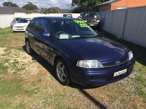 2000 Ford Laser KN GLXi Blue 5 Speed Manual Hatchback Belmont Lake Macquarie Area Preview