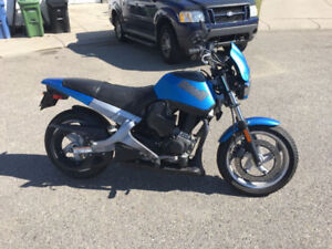2009 Buell Motorbike built by Harley Davidson with only 1700 kms