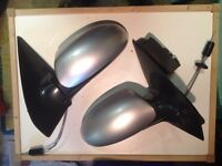 Ford Focus Manual Silver Car Wing Mirrors – PASSENGER Side