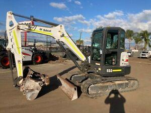 Bobcat E55 - BWU0968 Kenwick Gosnells Area Preview