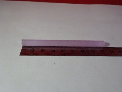 Optical Yag Crystal Laser Rod Optics As Is S8-b-04