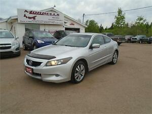 2008 HONDA ACCORD COUPE EX-L!!5 SPEED!!LEATHER!!!