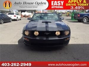 2008 Ford Mustang GT CONVERTIBLE LEATHER 90 DAY NO PAYMENTS