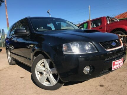 2007 Ford Territory SY Turbo AWD Black 6 Speed Sports Automatic Wagon Para Hills West Salisbury Area Preview