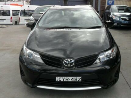 2014 Toyota Corolla ZRE182R Ascent Black 7 Speed CVT Auto Sequential Hatchback Canada Bay Canada Bay Area Preview