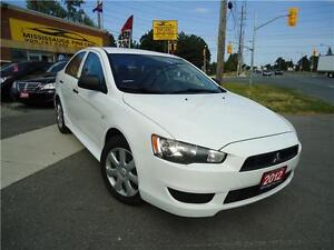 2012 Mitubishi Lancer,NO ACCIDENT,BLUETOOTH,DRIVES LIKE NEW