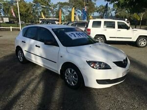 2006 Mazda 3 BK10F2 Neo White 5 Speed Manual Hatchback Penrith Penrith Area Preview