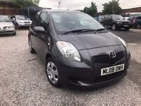 2008 Toyota Yaris 1.3 VVT-i TR 3dr FSH + 2KEYS+LONG MOT CAT (C)
