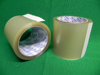 Qty 2 ShurTape Packing Tape 4 inch X 72 yard 96mm X 66m Clear FREE SHIPPING
