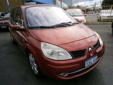 08 Renault Scenic ***FREE 12 MONTHS WARRANTY*** Bayswater Bayswater Area Preview