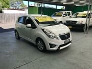 2010 Holden Barina Spark MJ CD White 5 Speed Manual Hatchback Five Dock Canada Bay Area Preview