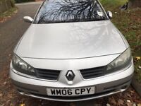 2006 AUTOMATIC RENAULT LAGUNA VERY GOOD CONDITION DRIVES PERFECT QUITE AND SMOOTH NO FAULTS