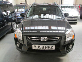 59 KIA SPORTAGE 2,0 XS AUTO WHEELCHAIR ADAPTED DISABLED