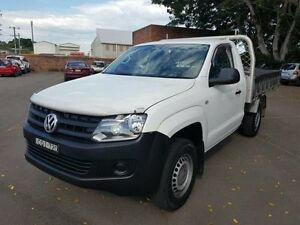 2013 Volkswagen Amarok 2H MY12.5 TDI340 (4x2) White 6 Speed Manual Cab Chassis Georgetown Newcastle Area Preview