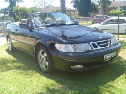 2000 saab convertible Lethbridge Park Blacktown Area Preview