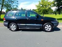 2006 55'reg Hyundai Santa Fe 2.4 CDX **61,000 miles**