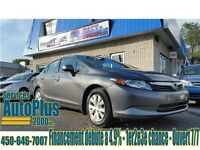 2012 Honda Civic Sdn LX A/C-Bluetooth-Econo