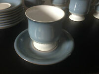 **New Price** Denby Castile cups and saucers