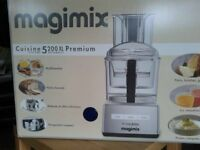 Magimix 5200XL Premium BlenderMix Food Processor New, boxed + extras