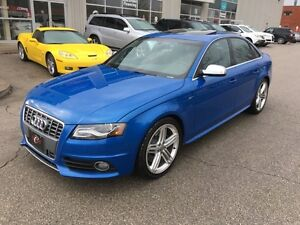 "2011 Audi S4 6SPD*WARRANTY*RARE BLUE PEARL*19""ALLOY*NO ACCI"