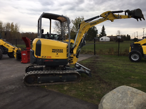 WACKER NEUSON EXCAVATOR - 28Z3 - FULLY LOADED WITH CAB - DEM